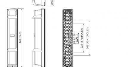SL-650QDP Dimensions
